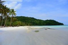 Tropisk strand - Saostrand i Vietnam Royaltyfri Foto