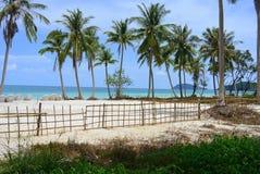 Tropisk strand - Saostrand i Vietnam Fotografering för Bildbyråer