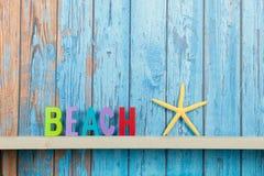 Tropisk strandkoja Royaltyfri Bild