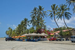 tropisk strandsemesterort Royaltyfria Foton