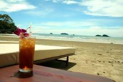 tropisk strandserie Royaltyfri Fotografi