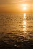 tropisk sundown Arkivfoton