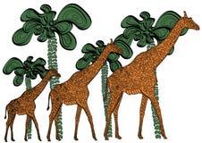 tropisk värld Arkivbild