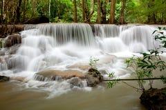 Tropisk vattenfall Thailand Fotografering för Bildbyråer