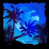 tropisk vektor för bakgrund stock illustrationer