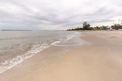 tropisk white för strandsand Royaltyfri Fotografi