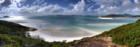 tropisk white för strandtillflyktsort Arkivbild