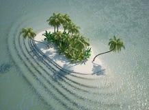 tropiska öar Royaltyfria Foton
