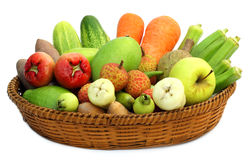 Tropiska frukter och grönsaker Royaltyfria Foton
