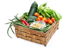 Tropiska grönsaker royaltyfria foton