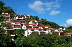 Tropiska hus Arkivbilder
