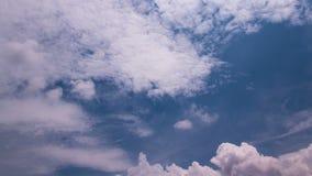 Tropiska moln 02 stock video
