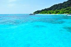 Tropiska strandSimilan öar, Thailand Royaltyfri Bild