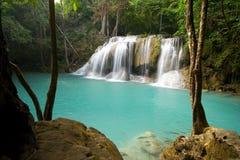 tropiska vattenfall Royaltyfria Bilder