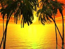 tropiskt vektor illustrationer