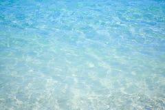tropiskt blått hav Arkivfoto