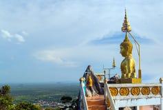 Tropiskt Buddhalandskap Arkivbild