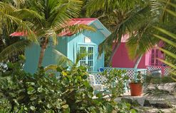 tropiskt för exotiskt läge för bungalow privat royaltyfri foto