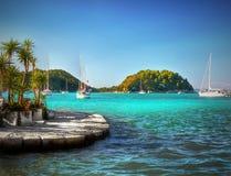 Tropiskt hav, exotiska ferier Arkivbild