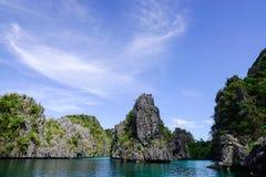 Tropiskt hav i Palawan, Filippinerna Royaltyfri Bild