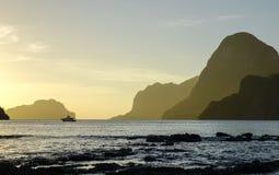 Tropiskt hav i Palawan, Filippinerna Fotografering för Bildbyråer