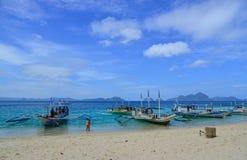 Tropiskt hav i Palawan, Filippinerna Royaltyfri Foto