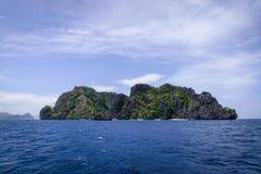 Tropiskt hav i Palawan, Filippinerna Arkivbild
