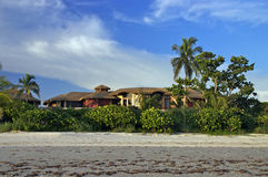 tropiskt home paradis Arkivfoto
