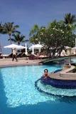 tropiskt hotell royaltyfria foton