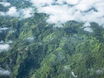 Tropiskt landskap på Filippinerna royaltyfri bild