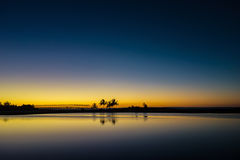 Tropiskt ljus Arkivbild