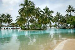Tropiskt paradis arkivbilder