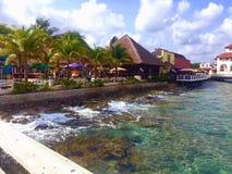Tropiskt paradis Cozumel Royaltyfri Fotografi
