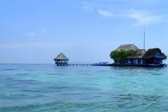 Tropiskt paradis - Rosario Islands, Colombia Fotografering för Bildbyråer