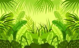 Tropiskt skogbarn Design Det kan vara nödvändigt för kapacitet av designarbete vektor illustrationer