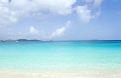 Tropiskt strandhav arkivfoton