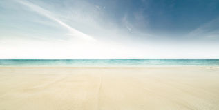 tropiskt strandhav Royaltyfri Fotografi