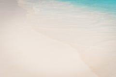 Tropiskt strandhav, sand och sommardag Arkivbilder
