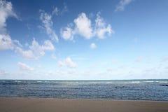 tropiskt strandhav royaltyfri foto