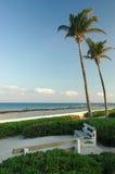 tropiskt strandparadis Royaltyfria Bilder