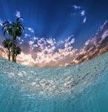 tropiskt vatten royaltyfri bild