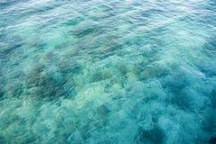 tropiskt vatten Arkivfoton