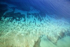 tropiskt vatten royaltyfria bilder