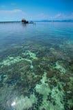 tropiskt vatten för paradis Fotografering för Bildbyråer