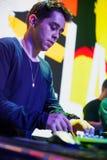 Tropkillaz stellen Album Herzen auf Feuer in Moskau dar Lizenzfreies Stockbild