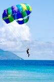 Tropocal Sea Vacation Landing Stock Image