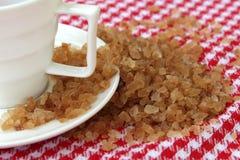 Zucchero di canna Fotografie Stock