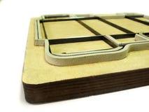 Troquelador - industria del polygraphy Imagenes de archivo
