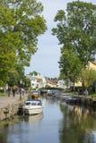 Trosa河瑞典 库存照片
