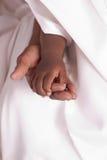 troskliwa ręka zdjęcie stock